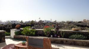 terraza con vista