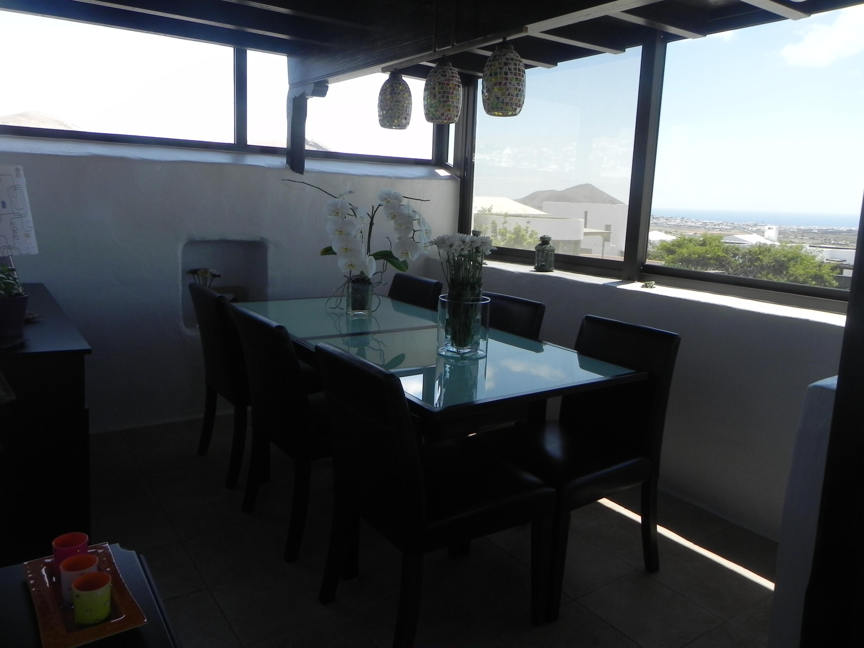 Villa Con Piscina Climatizada En Nazaret # Muebles Nazaret