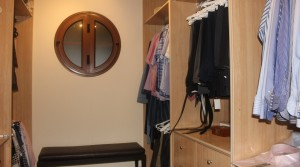 a Walk-In Wardrobe - Master Bedroom