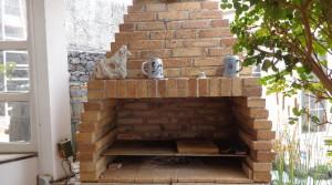 terraza detras BBQ