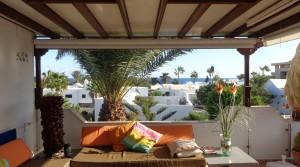 b terraza con vistas