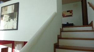 salon escalera a 3 dorm