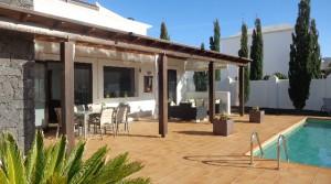 z fuera piscina terraza