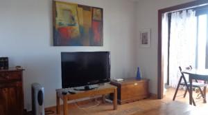 a salon TV