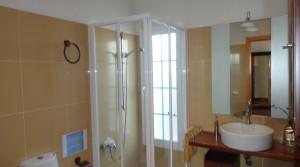 w baño fuera espejo