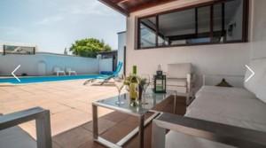 a terraza apto a piscina